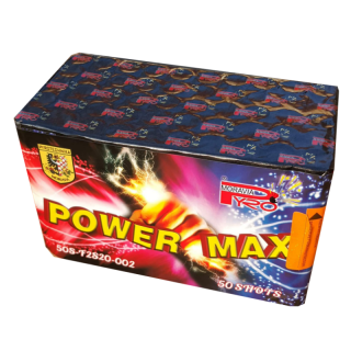 POWER MAX - kompakt 50 výstřelů, cal.20mm